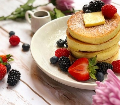 Soufflé Lemon Pancakes