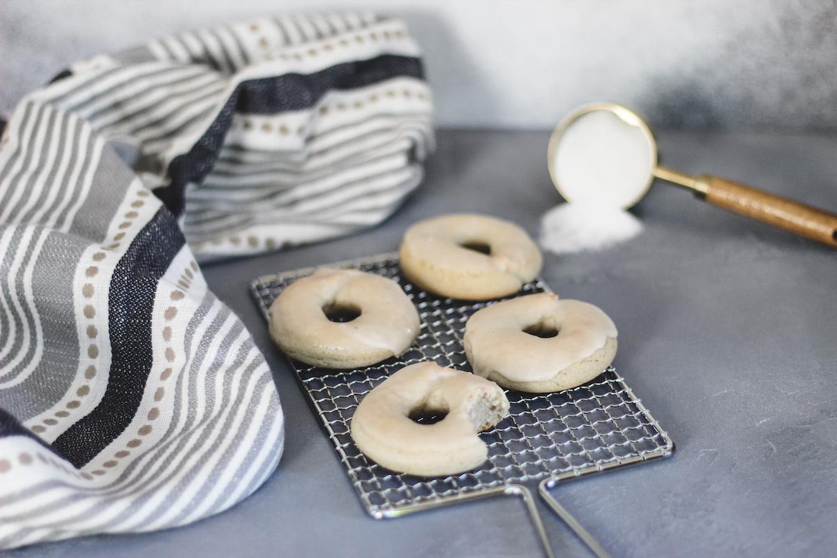 Taro Mochi Donuts