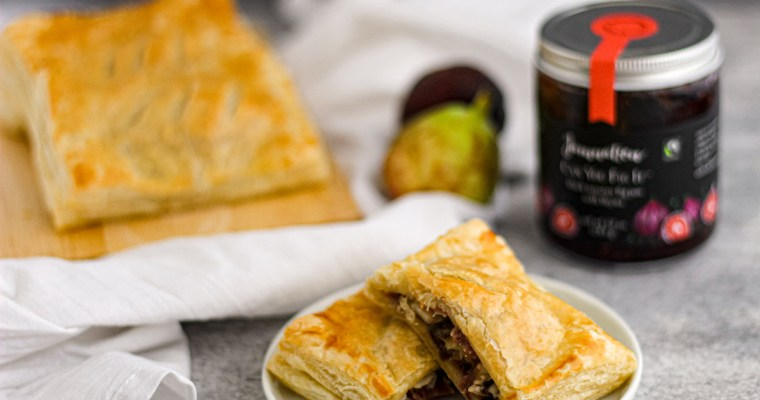 Fig, Brie, and Prosciutto Puff Pockets