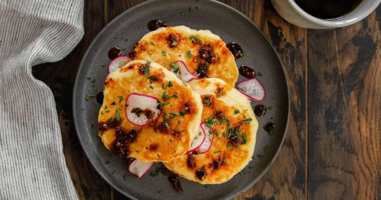 Cheese Soufflé Pancakes