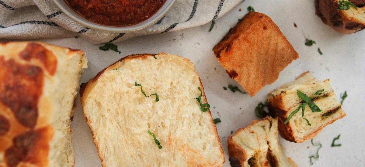 Caprese Bread Loaf