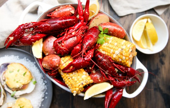 Butter Garlic Crawfish