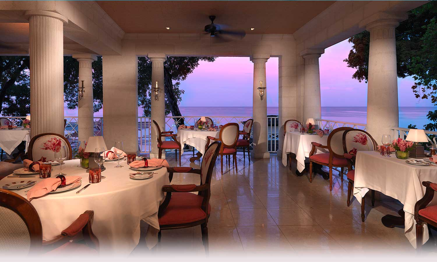 LAcajou Fine Dining In Barbados With A View