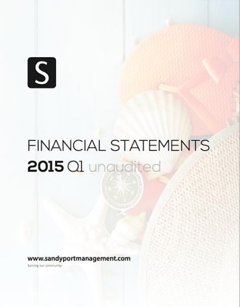 2015 Q1 Statements