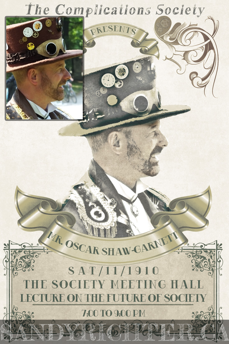 Steampunk Poster Example