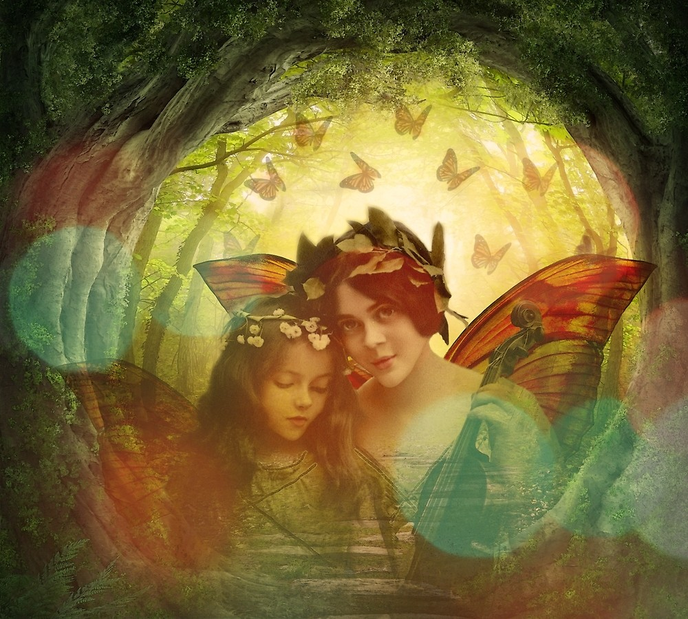 Mother & Daughter Fairy Portrait
