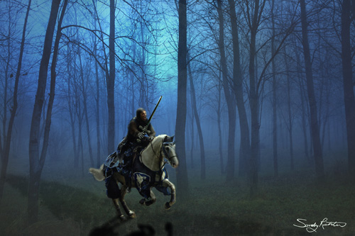 Knight on a Quest Fantasy Portrait