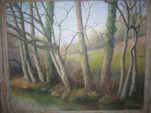 By The River Tilling Bourne, Surrey Image