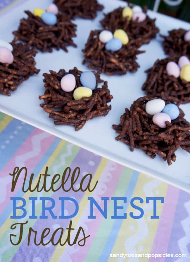 Nutella Chocolate Bird Nests Recipe Popsicle Blog