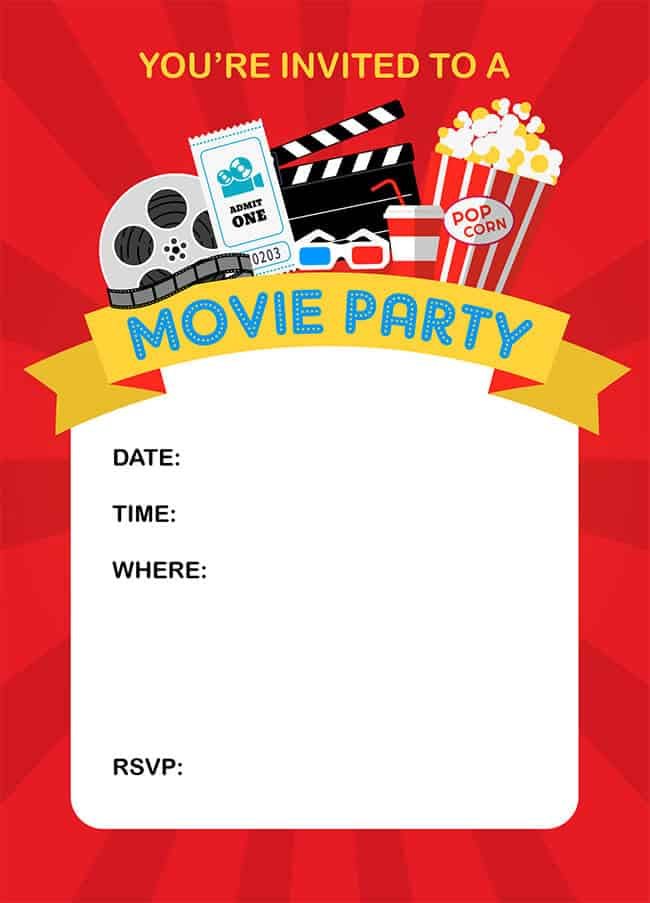 Movie Ticket Wedding Invitations with perfect invitation sample