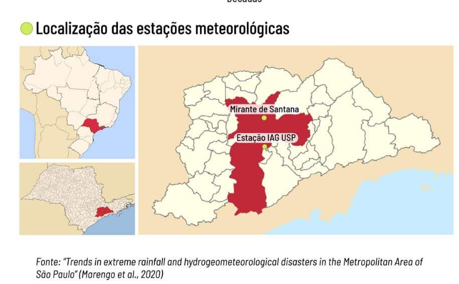 Dados comprovam aumento de eventos climáticos extremos em São Paulo 2