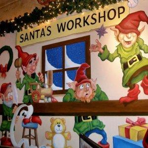 Santa's Magical Village