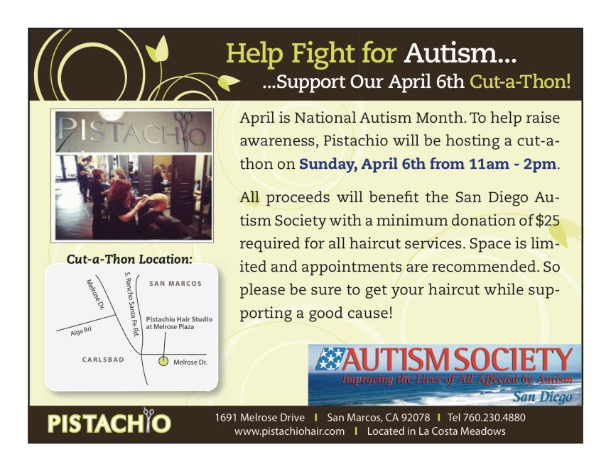Cut-a-Thon for Autism