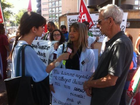 La psicologa Carola Nannarelli ai microfoni del tgr 3 LAZIO