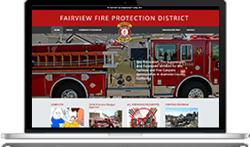 digital marketing company for fire department police department