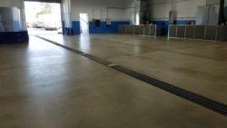 Concord, Ca  Industrial Floor Matte Finish