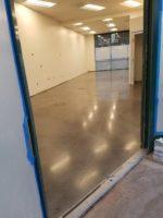 Fremont, Ca Bank Polished Concrete