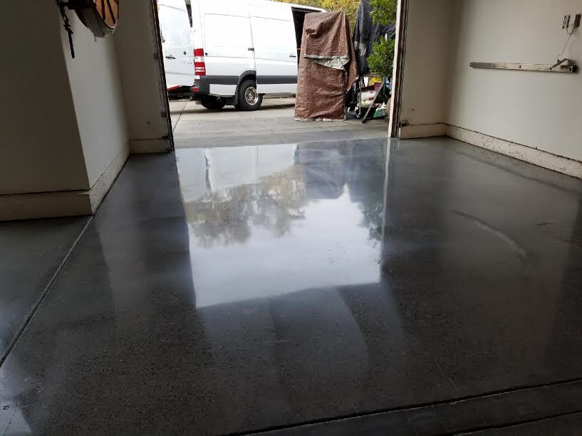 Polished Garage Floors Berkeley, Ca.