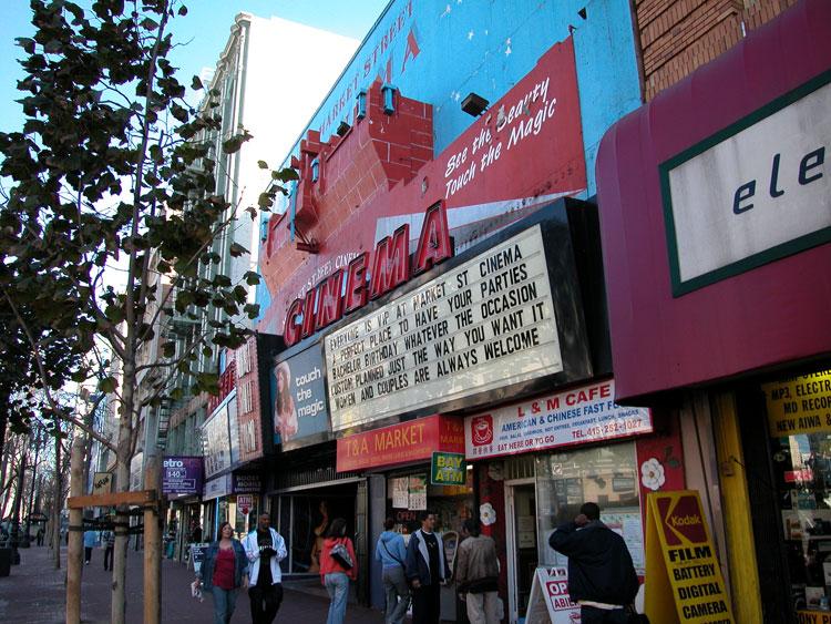 Market Street Central San Francisco Neighborhoods