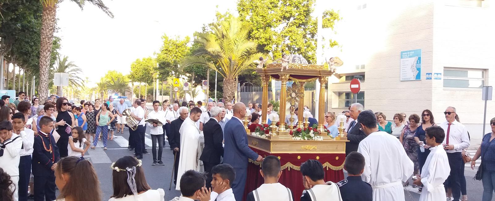 Parroquia El Altet - Procesión del Corpus Christi