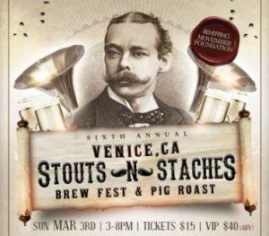 Stouts N Staches Brew Fest @ Club Venice
