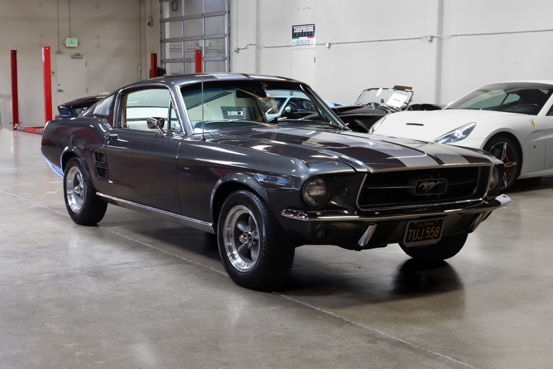 One of the most instantly recognizable movie cars of all time has been painstakingly restored and is going under the hammer one o. Used 1967 Ford Mustang Fastback For Sale 59 995 San Francisco Sports Cars Stock C21018