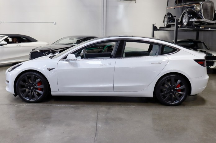 Used 2020 Tesla Model 3 Performance For Sale 53 495 San Francisco Sports Cars Stock C202079