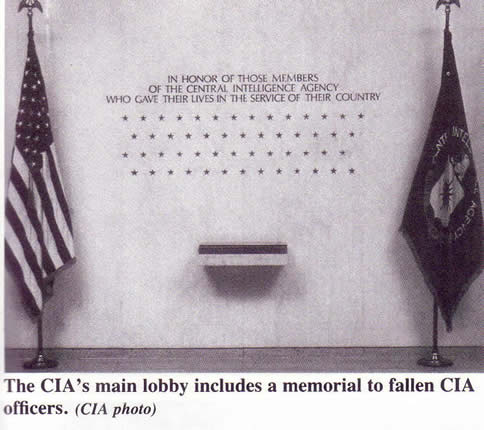 CIA operatives killed - 53 stars 1992 book