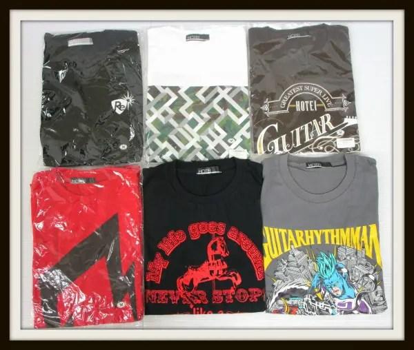 布袋寅泰 Tシャツ 6枚