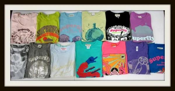Superfly 各種Tシャツ