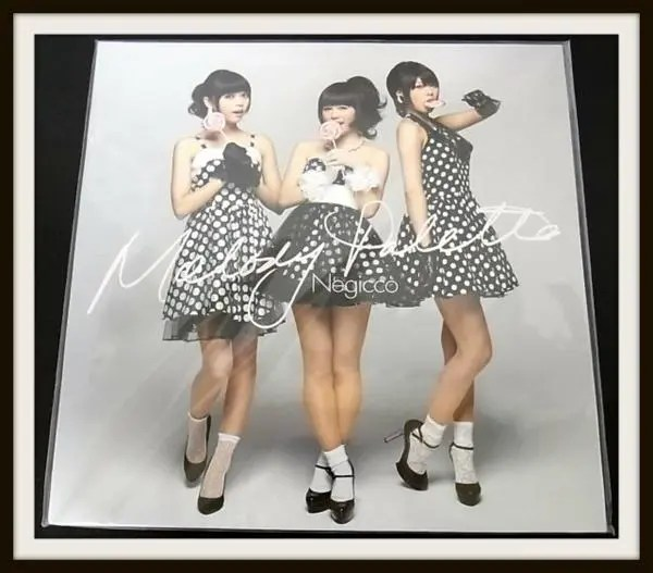 Negicco Melody Palette LP アナログ完全生産限定盤