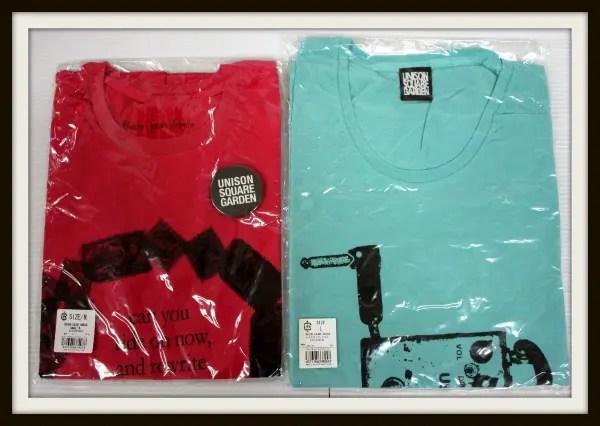 UNISON SQUARE GARDEN Tシャツセット2011コンパス