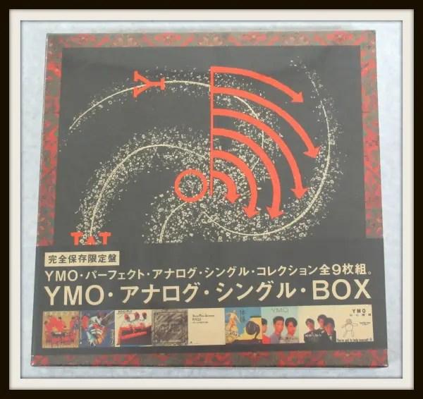 YMO・パーフェクト・アナログ・シングル・コレクション 完全保存限定盤 EP