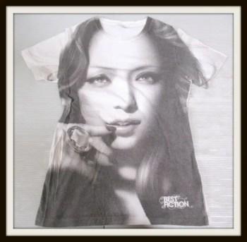 安室奈美恵 BEST FICTION TOUR 2008-2009 Tシャツ