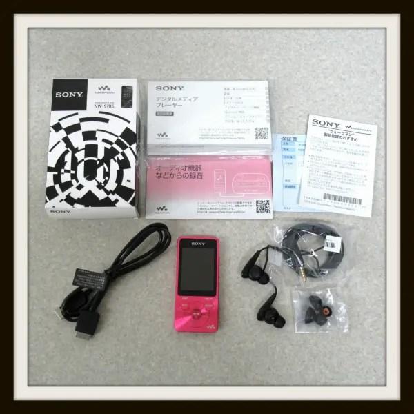 UVERworld モデル ウォークマン Sシリーズ NW-S785 16GB ピンク SONY Neo SOUND WAVE 2