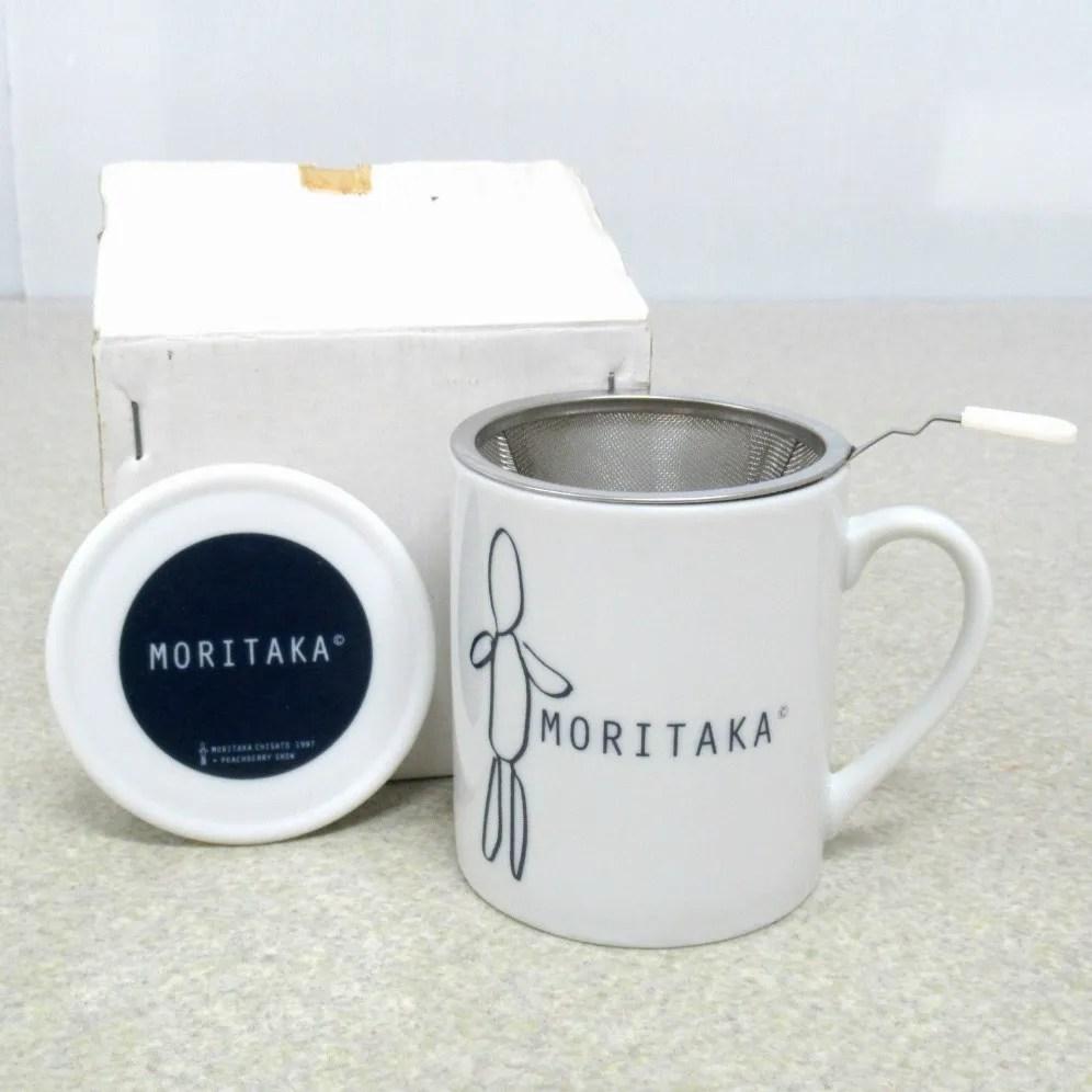 森高千里・茶漉し器付きマグカップ 公式グッズ 未使用