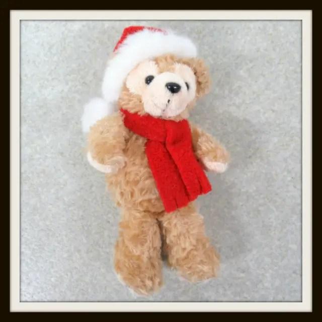 2004年 ダッフィー クリスマス ぬいぐるみバッジ