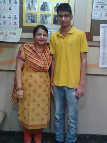 Yuvraj & Madam