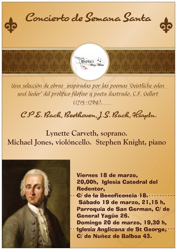 concierto semana santa 19 marzo