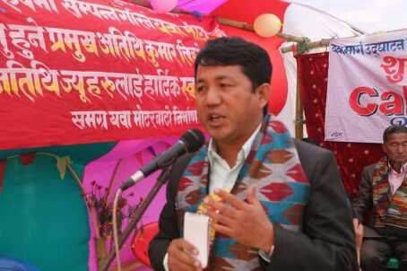 कुमार लिङ्देलको दोहोरो चरीत्र्, राजपासङ आन्दोलनको कुरो, लिम्बुवानमा भोट माङ्दै