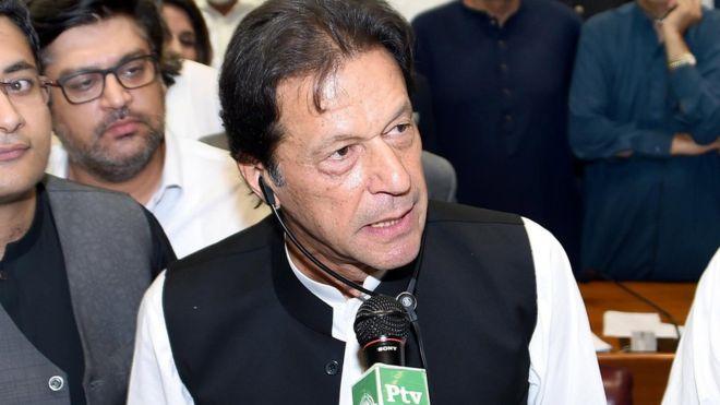 पाकिस्तानका प्रम इमरानले विश्वलाइ दिए चुनौती, ५२४ जम्बो टिमलाई २ जनामा झार्ने घोषणा