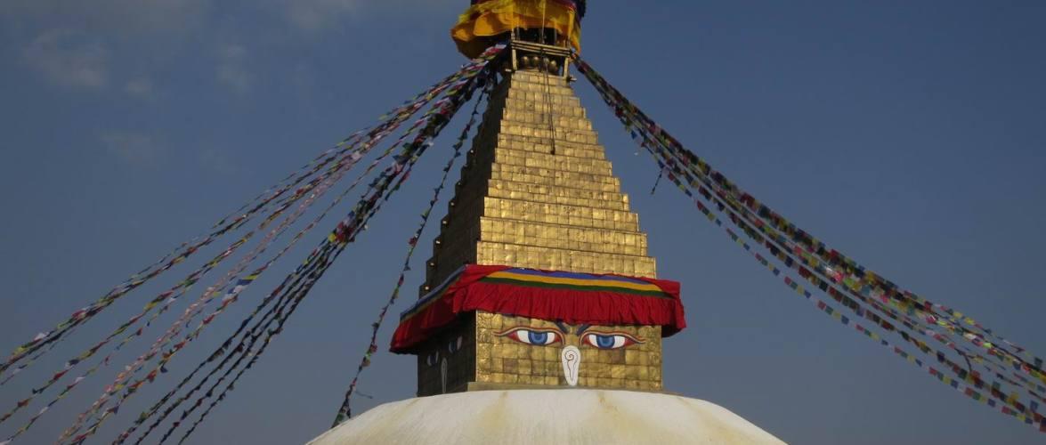 बौद्ध स्तुपामा समेत अतिक्रमण, हजारौँ प्वाला पार्दा स्तुपा कुरुप, संस्कृति मन्त्रालयमा उजुरी