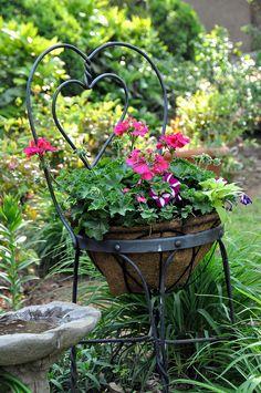 fiori,vasi,shabby,arredo shabby,giardinaggio,catino,secchio