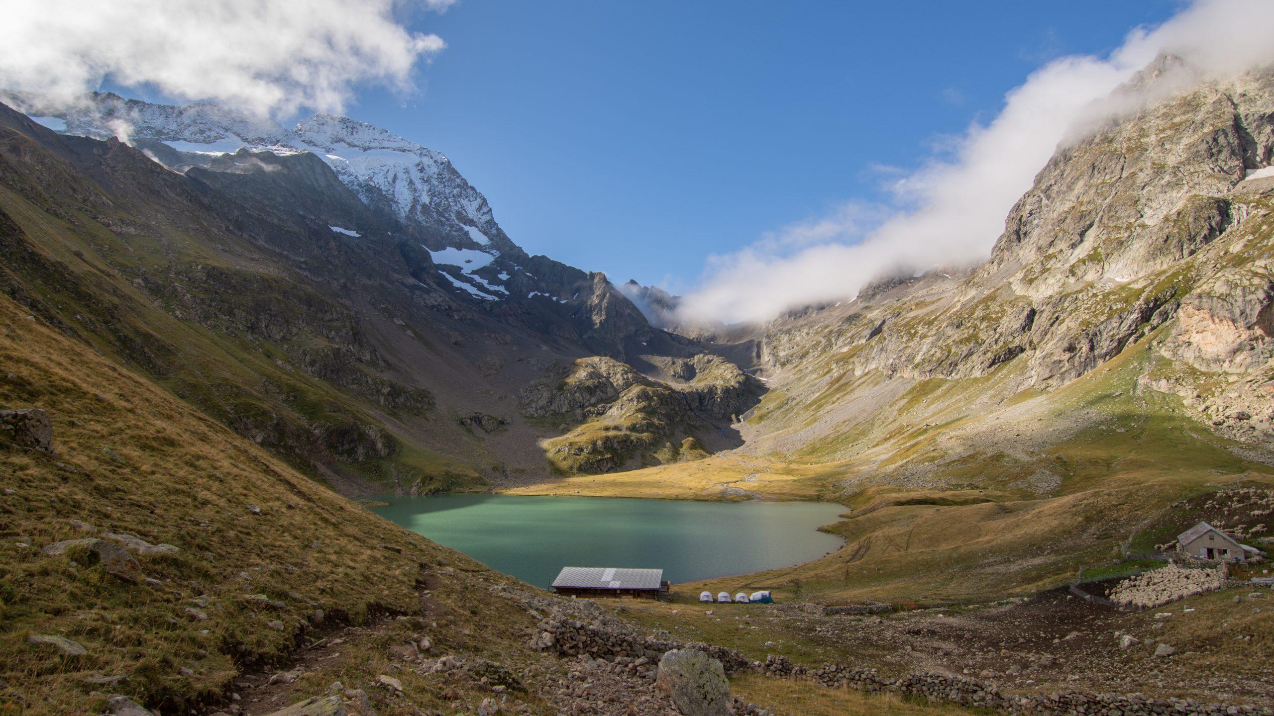 Le Parc National des Écrins : Randonnée vers le lac de la Muzelle
