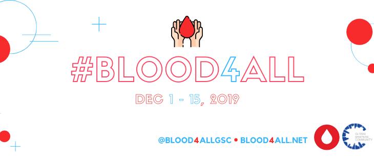 Nos sumamos a #Blood4All