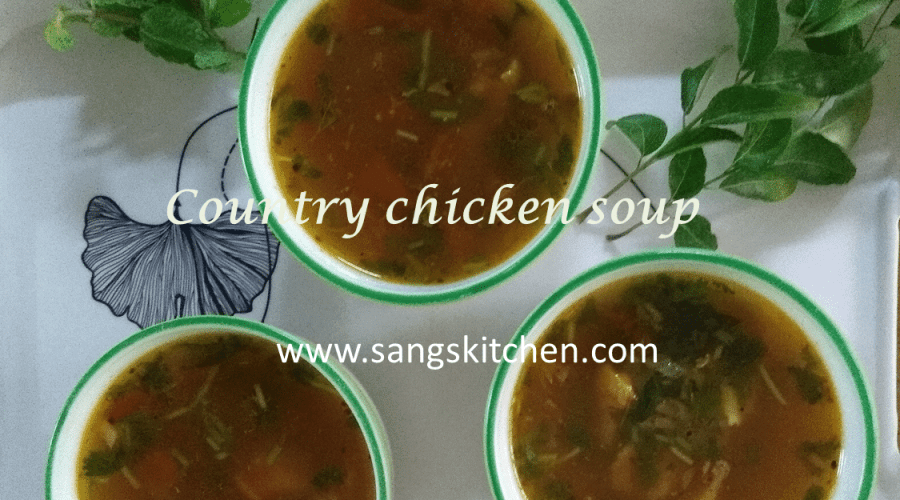 Country chicken soup-feature