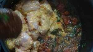 Chicken dum biryani -chicken