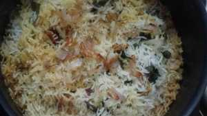 Chicken dum biryani -ready