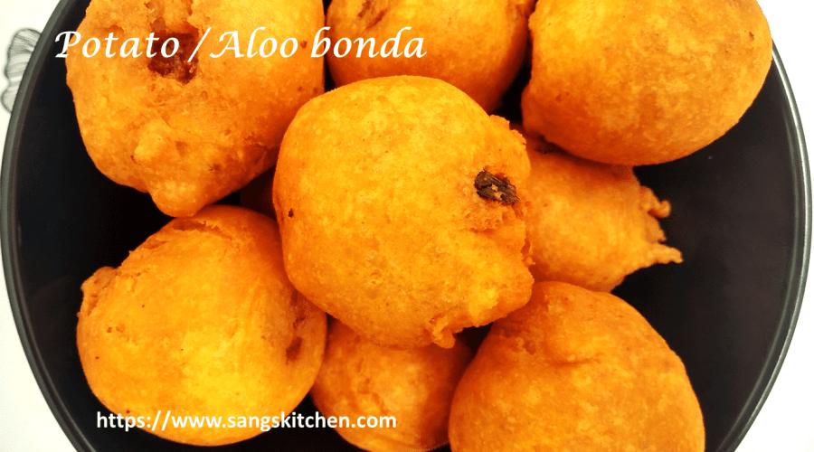 Potato bonda -feature