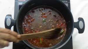 Chepala pulusu -cook
